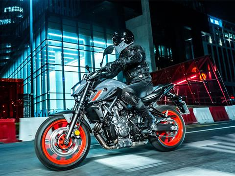2021 Yamaha MT-07 in Zephyrhills, Florida - Photo 14