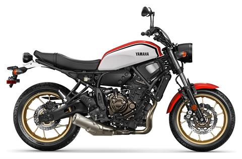2021 Yamaha XSR700 in Greenville, North Carolina