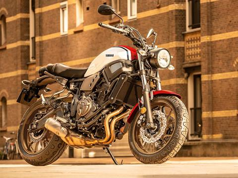 2021 Yamaha XSR700 in Victorville, California - Photo 8
