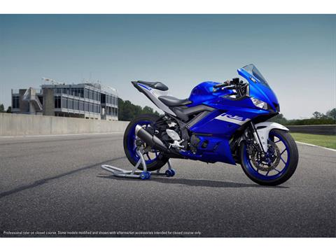 2021 Yamaha YZF-R3 ABS in San Marcos, California - Photo 5