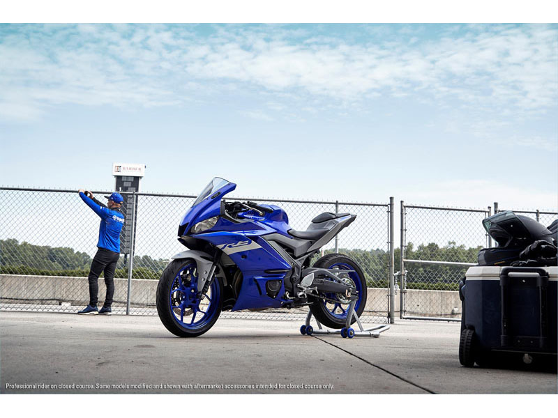 2021 Yamaha YZF-R3 ABS in Sacramento, California - Photo 6