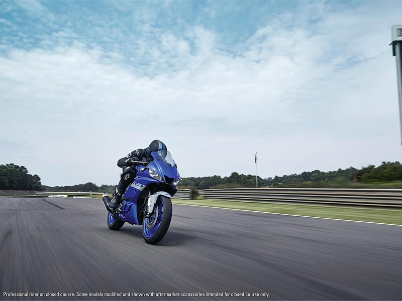 2021 Yamaha YZF-R3 ABS in Sacramento, California - Photo 10