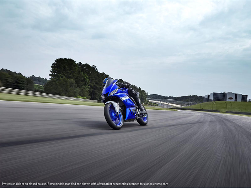 2021 Yamaha YZF-R3 ABS in Merced, California - Photo 11