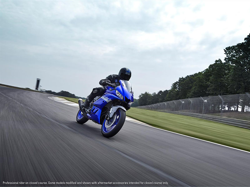2021 Yamaha YZF-R3 ABS in Sacramento, California - Photo 12