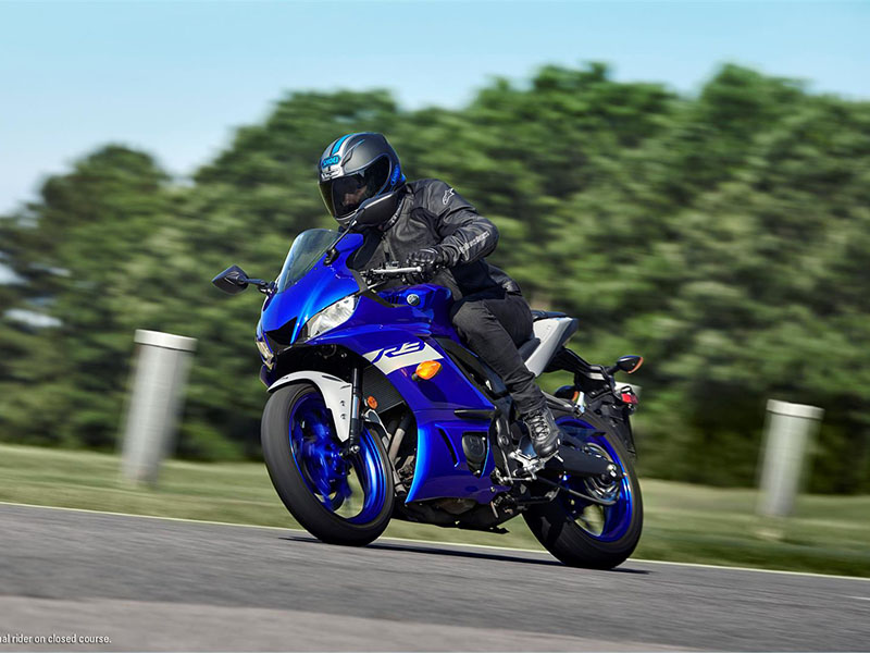 2021 Yamaha YZF-R3 ABS in Mio, Michigan - Photo 8