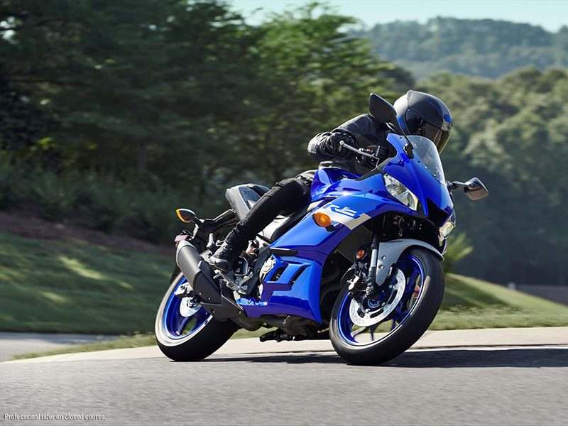 2021 Yamaha YZF-R3 ABS in Ishpeming, Michigan - Photo 9