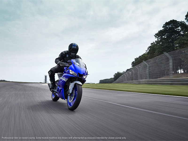 2021 Yamaha YZF-R3 ABS in Ishpeming, Michigan - Photo 13