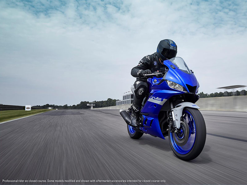 2021 Yamaha YZF-R3 ABS in San Jose, California - Photo 14