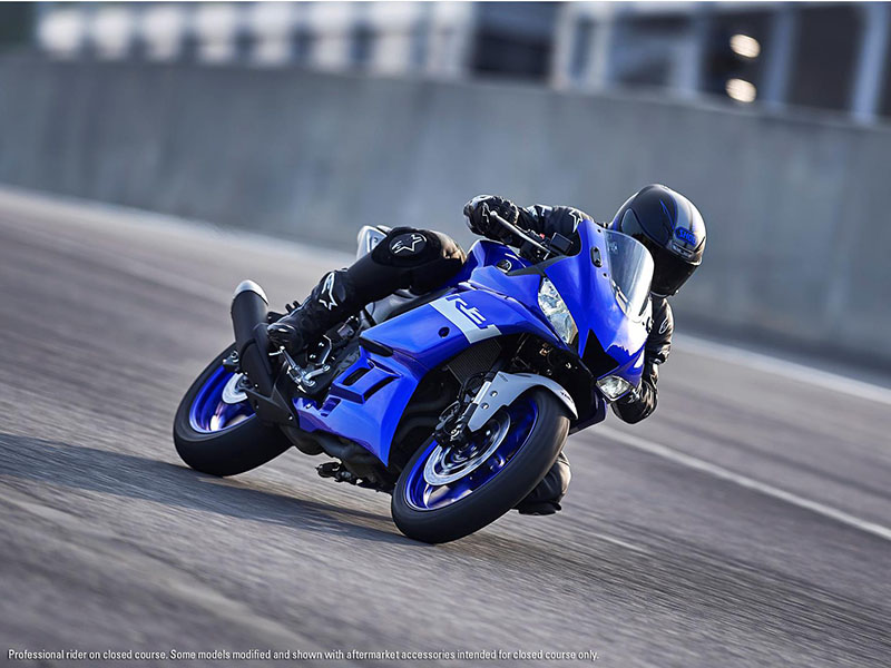 2021 Yamaha YZF-R3 ABS in Ishpeming, Michigan - Photo 15
