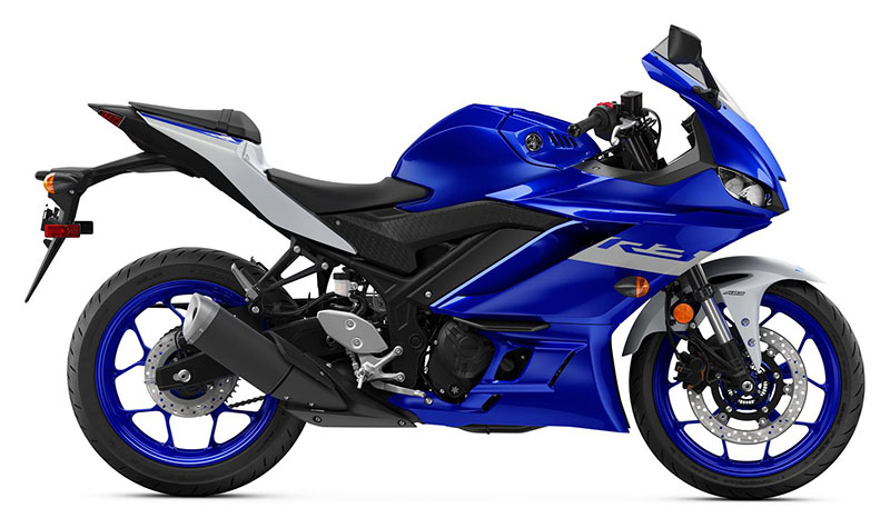 2021 Yamaha YZF-R3 ABS in Cumberland, Maryland - Photo 1