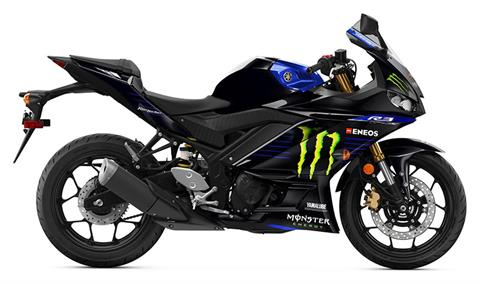2021 Yamaha YZF-R3 ABS Monster Energy Yamaha MotoGP Edition in Evanston, Wyoming