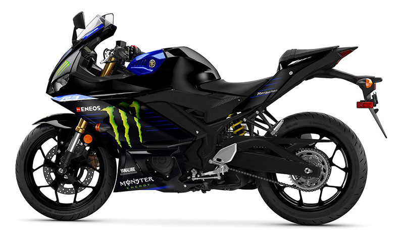 2021 Yamaha YZF-R3 ABS Monster Energy Yamaha MotoGP Edition in Carroll, Ohio - Photo 2