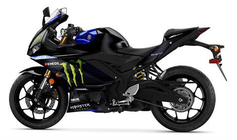 2021 Yamaha YZF-R3 Monster Energy Yamaha MotoGP Edition in Grimes, Iowa - Photo 3