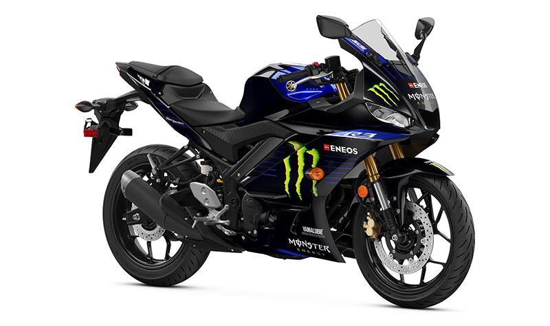 2021 Yamaha YZF-R3 Monster Energy Yamaha MotoGP Edition in Galeton, Pennsylvania - Photo 3