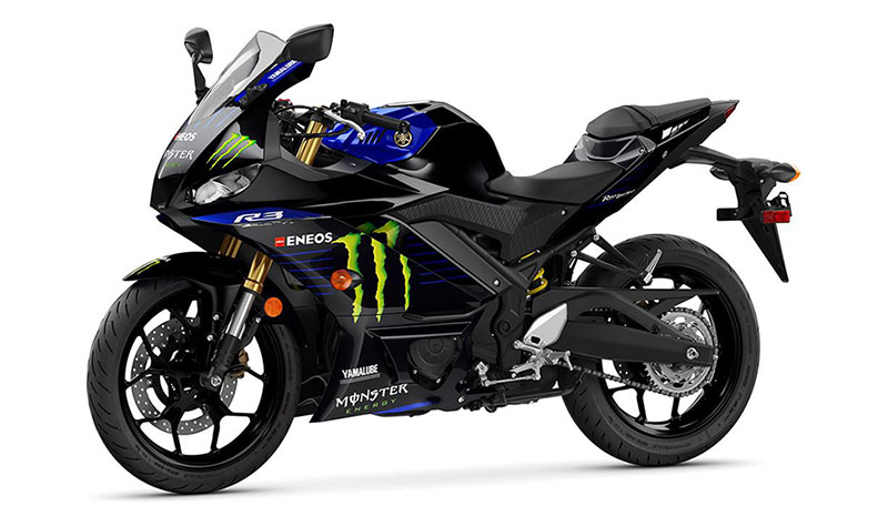 2021 Yamaha YZF-R3 ABS Monster Energy Yamaha MotoGP Edition in Carroll, Ohio - Photo 4