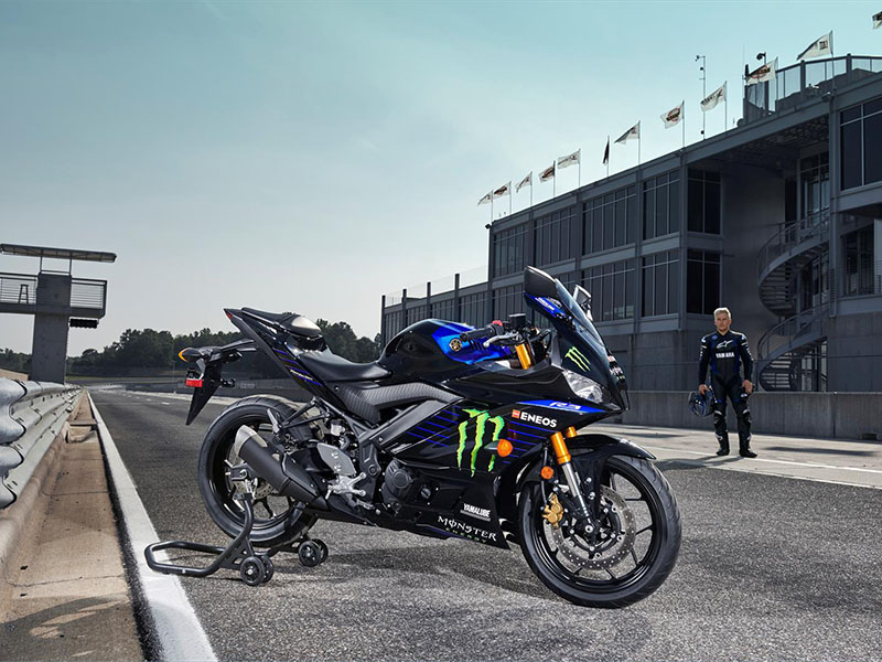 2021 Yamaha YZF-R3 Monster Energy Yamaha MotoGP Edition in Herrin, Illinois - Photo 6