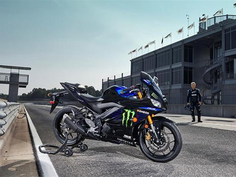 2021 Yamaha YZF-R3 ABS Monster Energy Yamaha MotoGP Edition in San Marcos, California - Photo 6