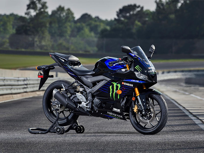 2021 Yamaha YZF-R3 Monster Energy Yamaha MotoGP Edition in Tyrone, Pennsylvania - Photo 7
