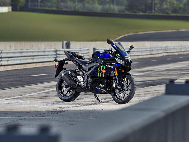2021 Yamaha YZF-R3 Monster Energy Yamaha MotoGP Edition in Grimes, Iowa - Photo 9