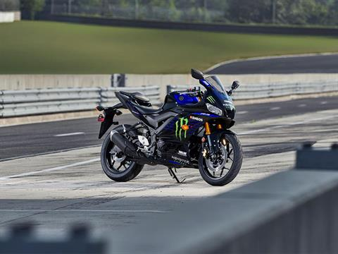 2021 Yamaha YZF-R3 ABS Monster Energy Yamaha MotoGP Edition in Carroll, Ohio - Photo 8