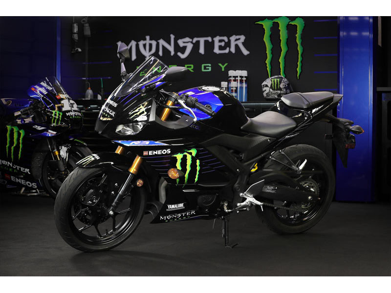 2021 Yamaha YZF-R3 Monster Energy Yamaha MotoGP Edition in Herrin, Illinois - Photo 11