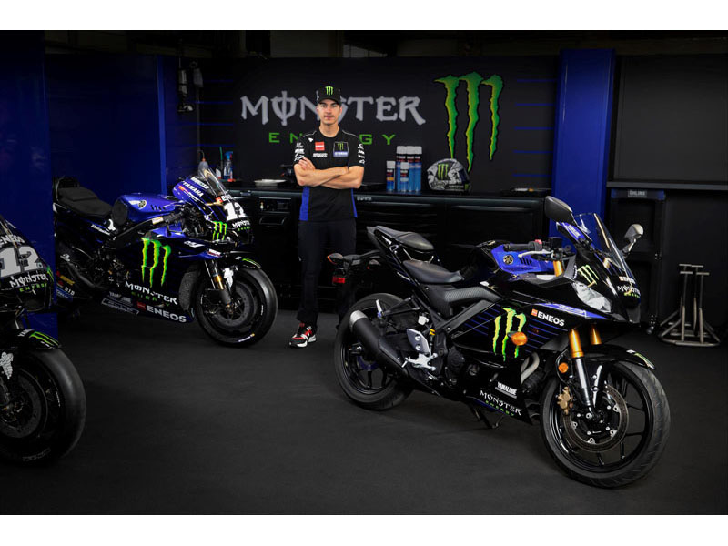 2021 Yamaha YZF-R3 Monster Energy Yamaha MotoGP Edition in Galeton, Pennsylvania - Photo 12
