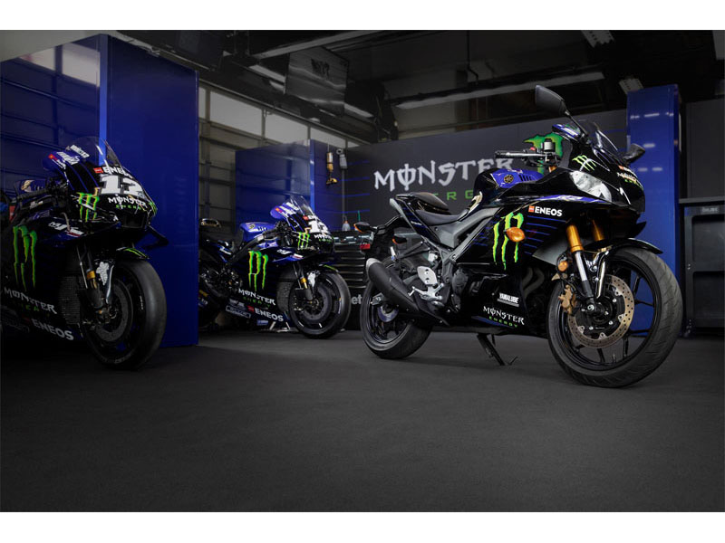 2021 Yamaha YZF-R3 ABS Monster Energy Yamaha MotoGP Edition in Iowa City, Iowa - Photo 14