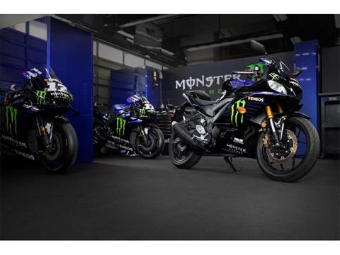 2021 Yamaha YZF-R3 Monster Energy Yamaha MotoGP Edition in Billings, Montana - Photo 14
