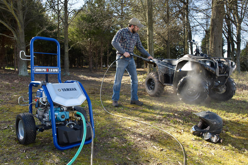 2020 Yamaha PW3028N Pressure Washer in Ishpeming, Michigan - Photo 8