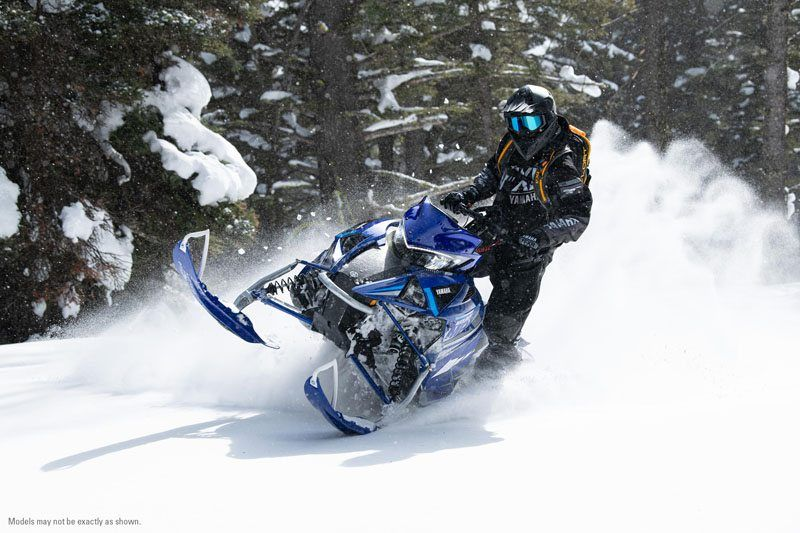 2021 Yamaha Mountain Max LE 154 in Francis Creek, Wisconsin