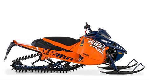 2021 Yamaha Sidewinder B-TX LE 153 in Dimondale, Michigan