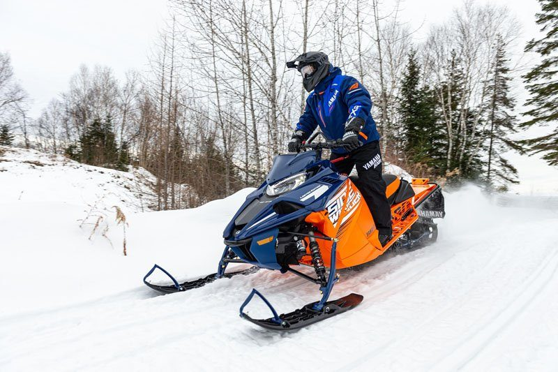 2021 Yamaha Sidewinder B-TX LE 153 in Saint Helen, Michigan - Photo 3