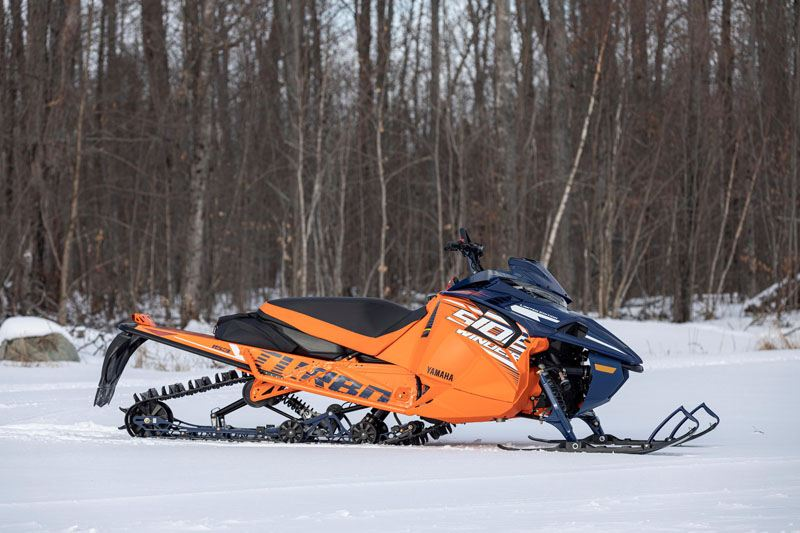2021 Yamaha Sidewinder B-TX LE 153 in Johnson Creek, Wisconsin - Photo 9