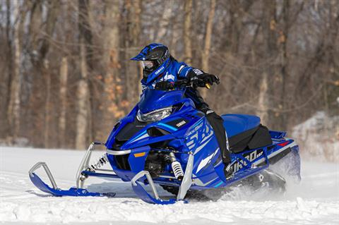 2021 Yamaha Sidewinder SRX LE in Speculator, New York - Photo 5