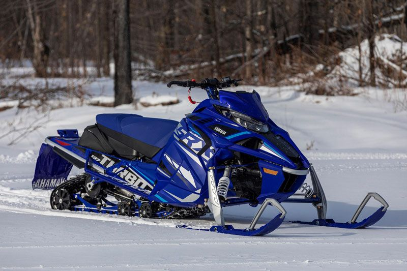 2021 Yamaha Sidewinder SRX LE in Speculator, New York - Photo 10