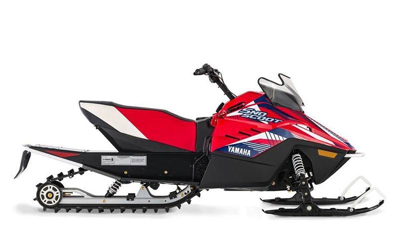 2021 Yamaha SnoScoot ES in Coloma, Michigan - Photo 1