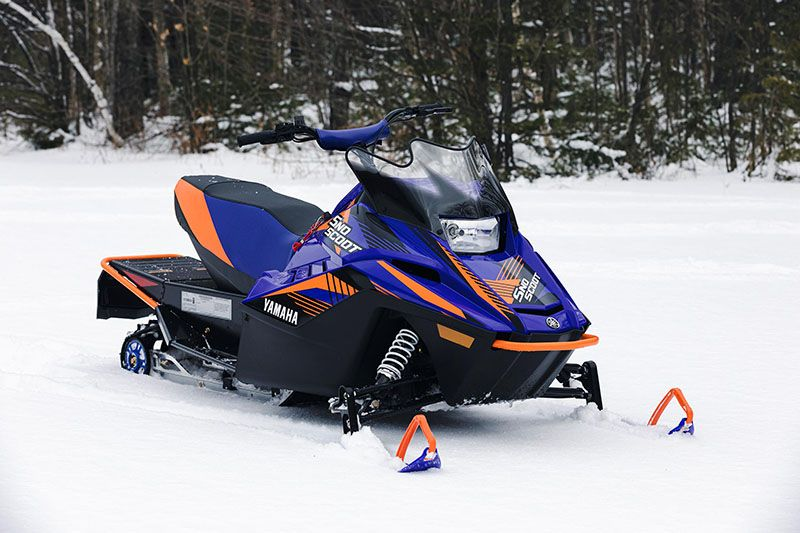 2021 Yamaha SnoScoot ES in Coloma, Michigan - Photo 8