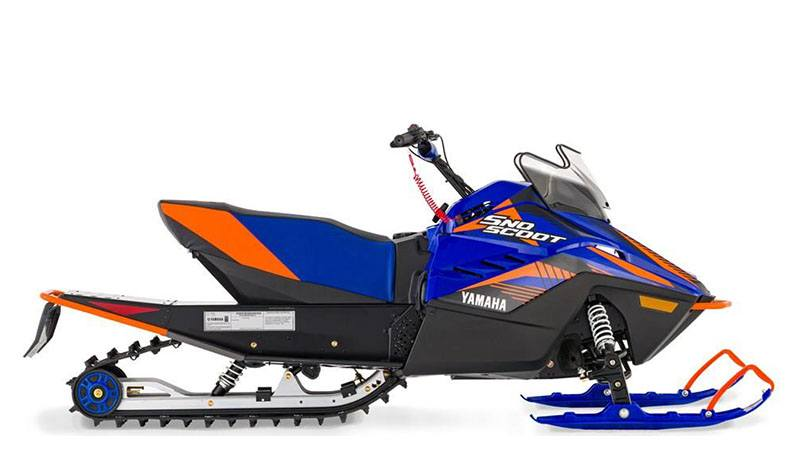 2021 Yamaha SnoScoot ES in Mio, Michigan - Photo 1