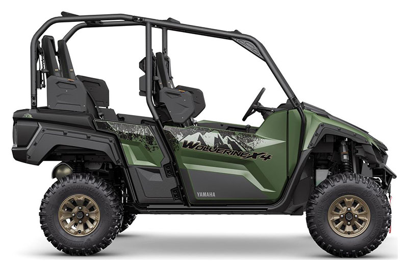 2021 Yamaha Wolverine X4 XT-R 850 in Waynesburg, Pennsylvania - Photo 1