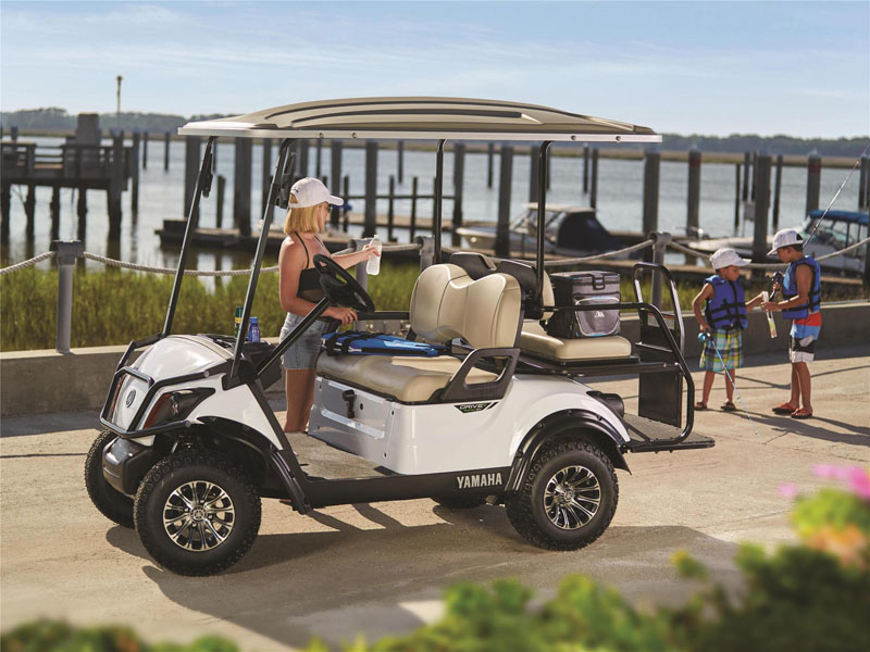 2021 Yamaha Adventurer Sport 2+2 PowerTech AC in Fernandina Beach, Florida - Photo 3