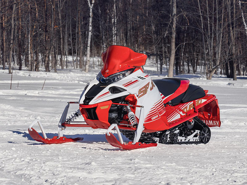2022 Yamaha Sidewinder SRX LE in Francis Creek, Wisconsin - Photo 4