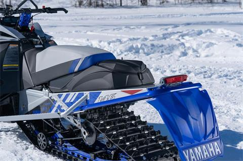 2022 Yamaha Sidewinder X-TX LE 146 in Port Washington, Wisconsin - Photo 16