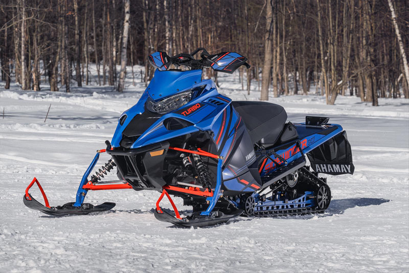 2022 Yamaha Sidewinder X-TX SE 146 in Escanaba, Michigan - Photo 10