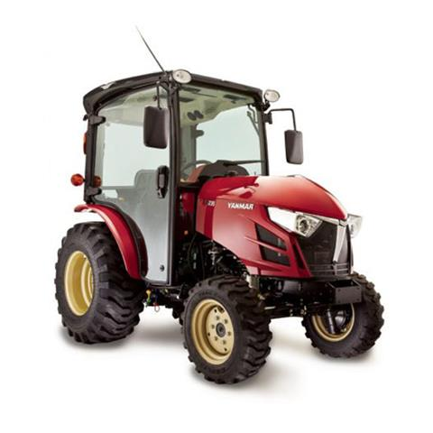 2018 Yanmar Compact Diesel Tractor with Cab (YT235C) in Saint Johnsbury, Vermont