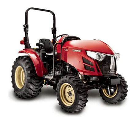 2019 Yanmar YT235 YT2 Series Compact Diesel Tractor with ROPS in Saint Johnsbury, Vermont