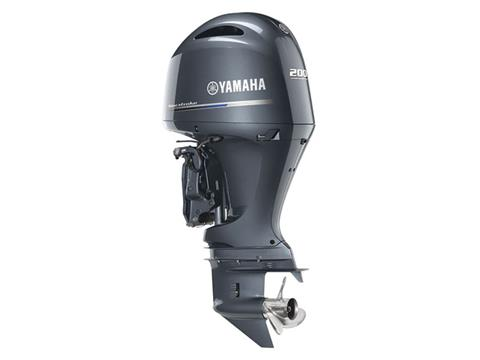 Yamaha F200 I-4 2.8L Digital 20 in Chula Vista, California - Photo 2