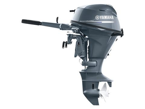 Yamaha F25 Portable Tiller ES in Hancock, Michigan
