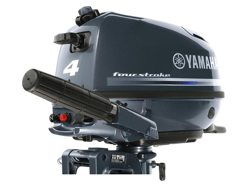 Yamaha F4 Portable Tiller in Augusta, Maine - Photo 4