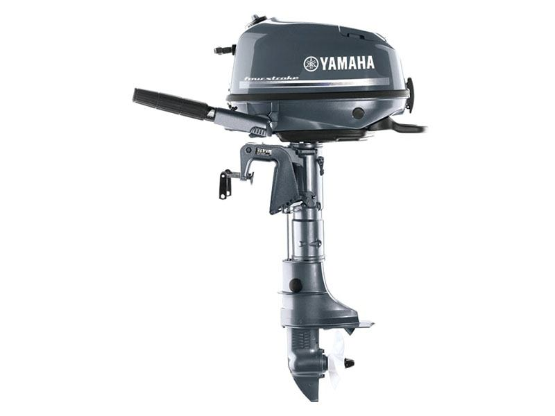 Yamaha F4 Portable Tiller in Augusta, Maine - Photo 1