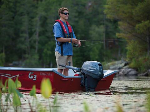 Yamaha F8 Portable Tiller in Augusta, Maine - Photo 3